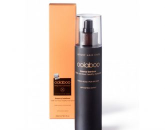 bouncy bamboo 100% non-toxic healthy hair spray