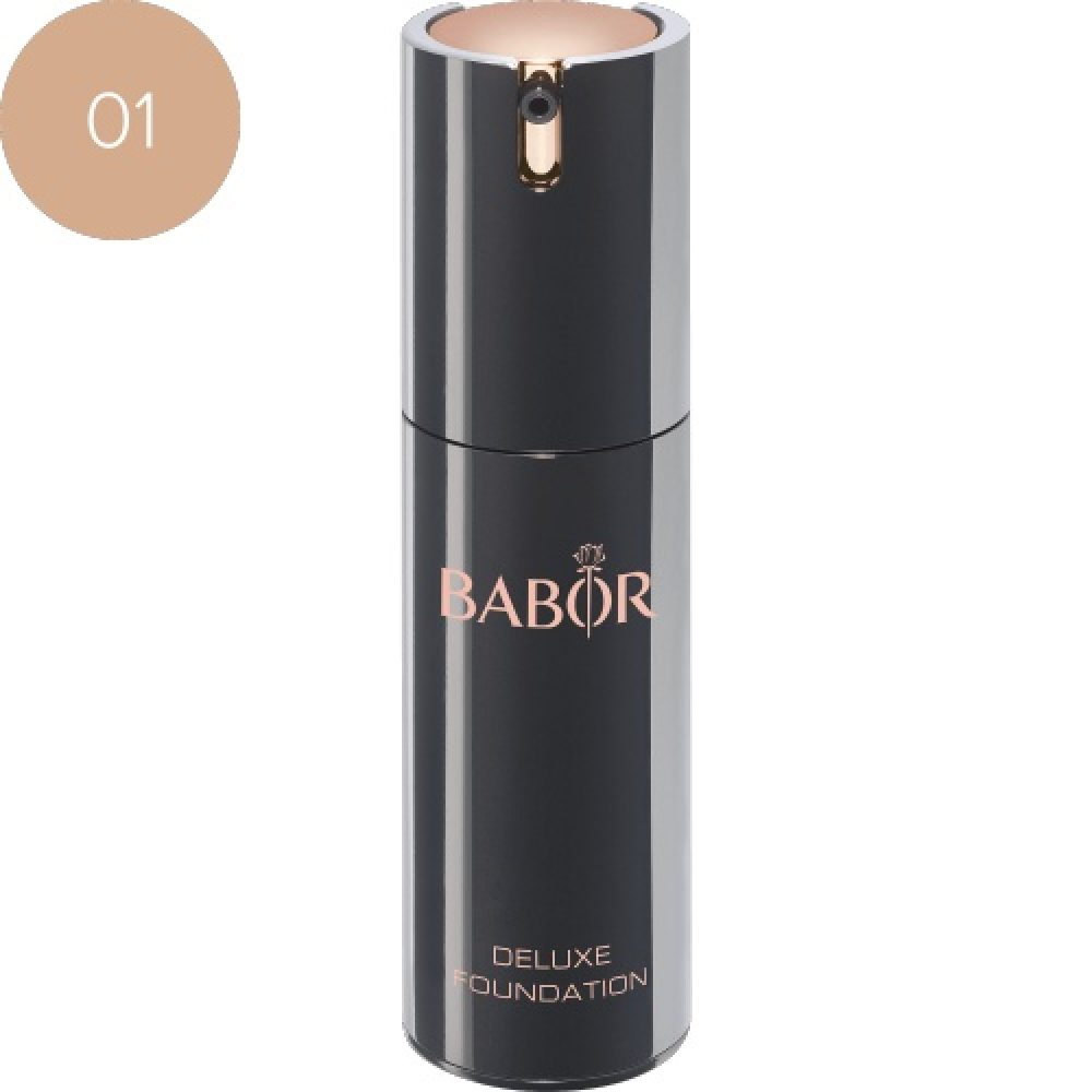 BABOR Foundation Deluxe Foundation 01 ivory een optisch direct lifting-effect