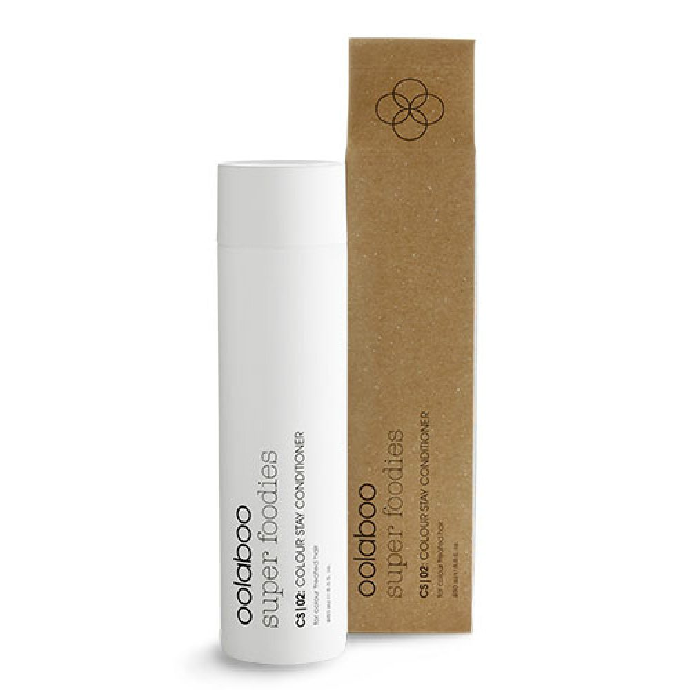 Oolaboo | 02 best stuff to use as your second step to nourish your hair COLOUR STAY CONDITIONER for color treated hair with cranberry